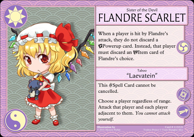 Flandre Scarlet character card
