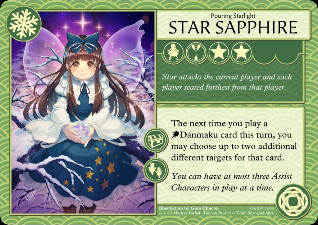 Star Sapphire Card