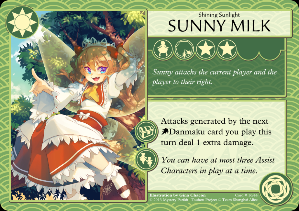Sunny Milk Card